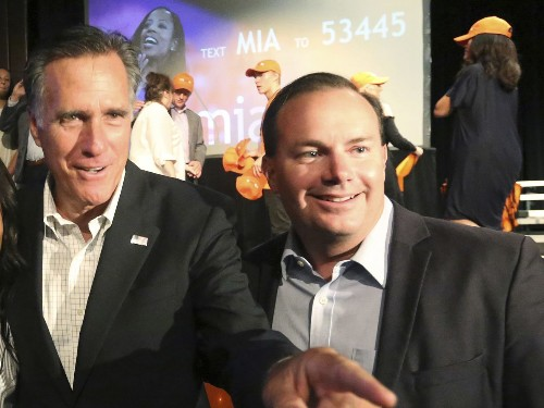 Why Mitt Romney loses points with Utah Republicans, scores big with Democrats