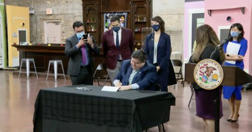 Gov. J.B. Pritzker announces federal grants to help make rent payments, coming end to eviction moratorium