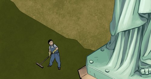 The Asian American wealth gap, explained in a comic