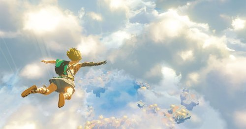 The Legend of Zelda: Breath of the Wild sequel sends Link to the skies in 2022
