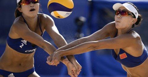 Olympic uniforms: why do beach volleyball players wear bikinis?