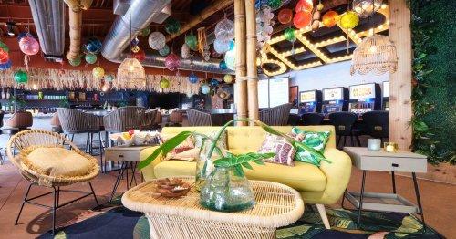 A Pop-Up Polynesian Bar Makes Tiki Dreams Come True at Ellis Island's The Front Yard
