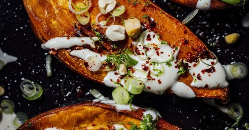 This Baked Sweet Potato Recipe Will Enliven All of Your Senses