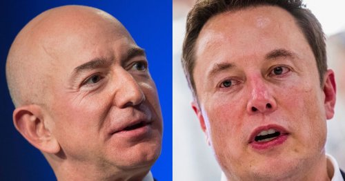 The Senate just advanced the beef between SpaceX and Blue Origin