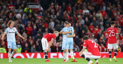 Player Ratings: Manchester United 0-1 West Ham