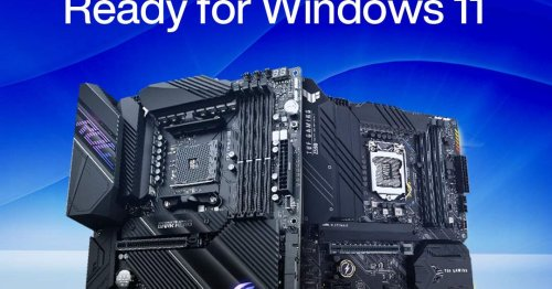 Asus releases Windows 11-ready BIOS updates with automatic TPM support