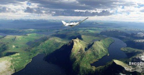 Microsoft Flight Simulator adds beautiful Nordic views in its latest update