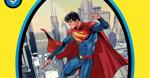 DC Comics officially has a new Superman: his son