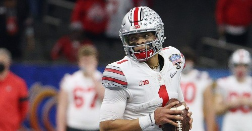 The ceiling and the floor for Justin Fields in the CFP National Championship Game
