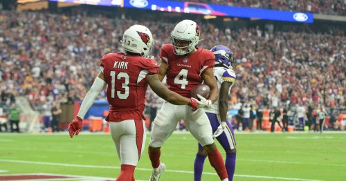 Rondale Moore shows big play ability in Arizona Cardinals win over Minnesota Vikings