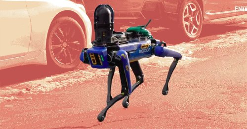The NYPD deploys a robot dog again