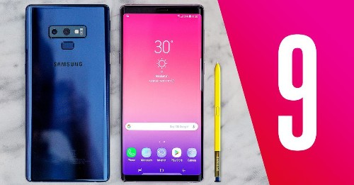 Samsung announces Galaxy Note 9 with 6.4-inch screen and a huge battery