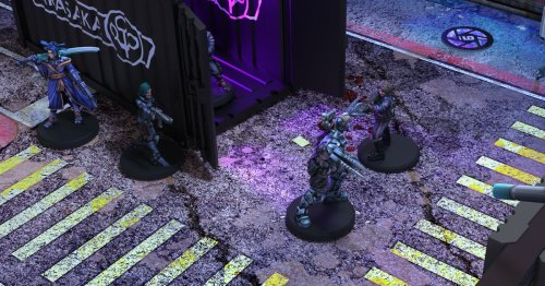 There's a new tabletop miniatures game set before the timeline of Cyberpunk 2077