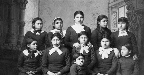 Reckoning with the theft of Native American children