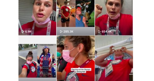 Olympics TikTok is one of the best parts of the Games