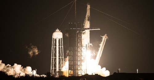 SpaceX successfully launches second crew to space on first operational mission