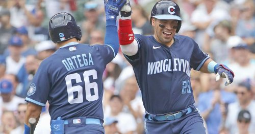 Robinson Chirinos overjoyed to be with Cubs