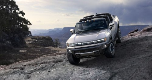 The Hummer is back as a 350-mile range 'electric supertruck' that can drive diagonally