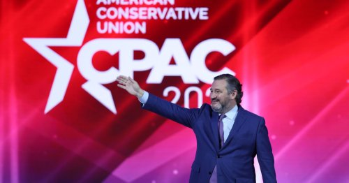 CPAC organizers begged attendees to wear masks — and got booed