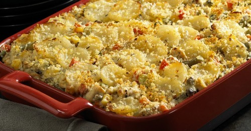 Menu planner: Potato, turkey and vegetable casserole is both economical and tasty