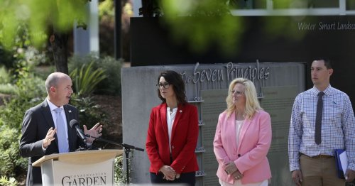 How can people save water in drought? Utah governor wants to buy back your lawn