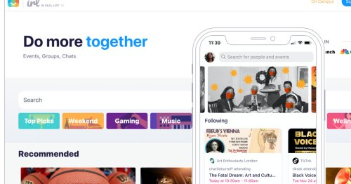 IRL is a new social network taking on Facebook groups