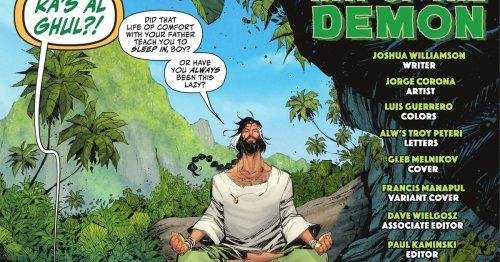 Ra's al Ghul has become the DC universe's hottest grandpa