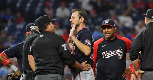 MLB's war on sticky stuff is making pitchers strip mid-game