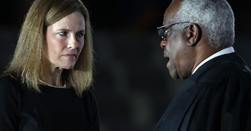 The Supreme Court hands down its first anti-abortion rights decision of the Amy Coney Barrett era