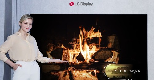 LG Display announces its smallest OLED TV panel yet