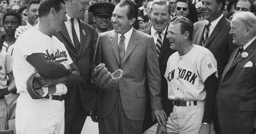 Richard Nixon, MLB, and the interplay of baseball and politics
