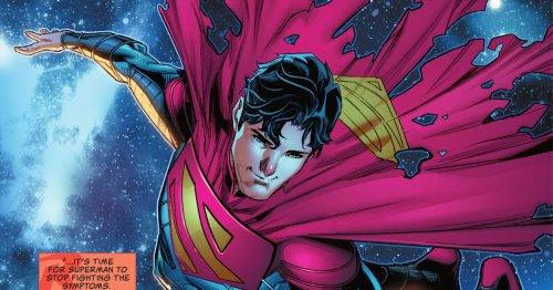 It's hard to punch the climate crisis, but Superman's son is trying