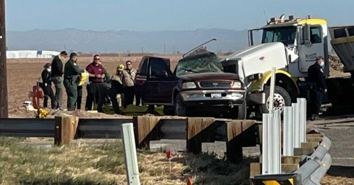SUV carrying 27 crashes with semitruck, killing 15 in California