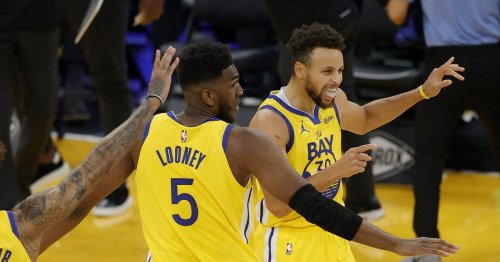Curry, Wiseman, and Looney are BACK
