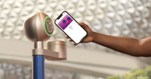 Disney's MagicMobile pass is a contactless alternative to the MagicBand