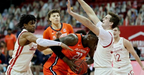 No. 5 Illinois holds off Wisconsin as furious rally falls short