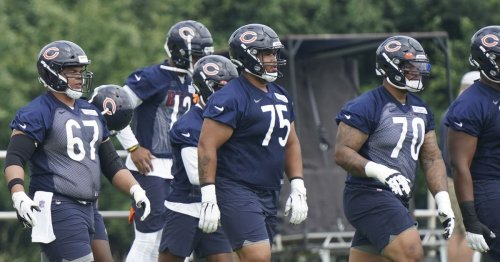 The Bears invested in QBs — but can they protect them?