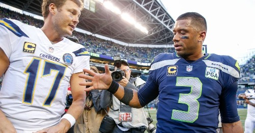 Russell Wilson becomes NFL's active leader for consecutive starts by a quarterback