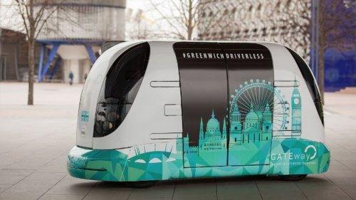 London trials driverless shuttle service