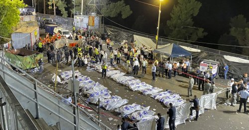 Religious festival stampede in Israel kills 45, hurts dozens