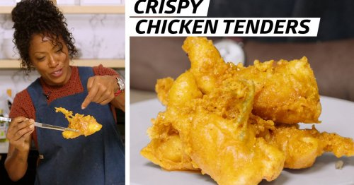 "How Chef Nyesha Arrington Makes ""Shatter Batter"" Chicken Tenders"