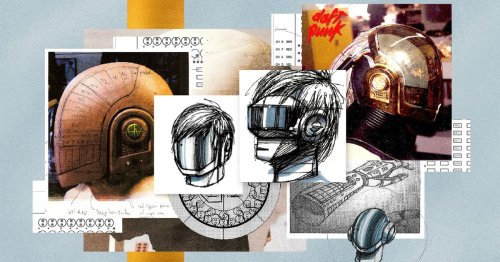 Today I learned how the Daft Punk robot helmets were created