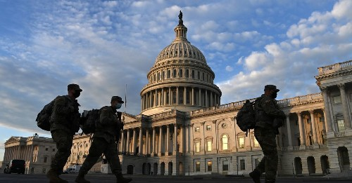 Up to 25,000 National Guard troops are headed to DC. It's unclear why so many are needed.