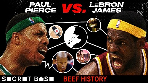Beef History: Paul Pierce vs. Lebron James