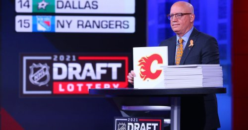 45th Pick: Flames Select LW William Stromgren