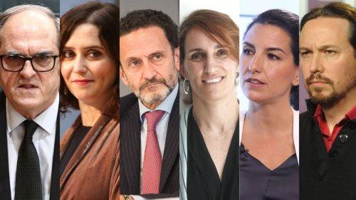 Elecciones Madrid: primer y único debate de los candidatos: bloques, dónde y cuándo verlo