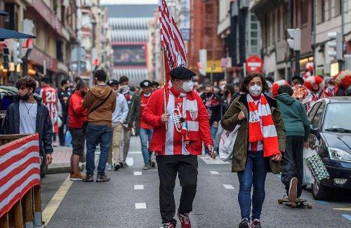 Una joven resulta herida en Bilbao en los disturbios provocados por aficionados del Athletic - Vozpópuli