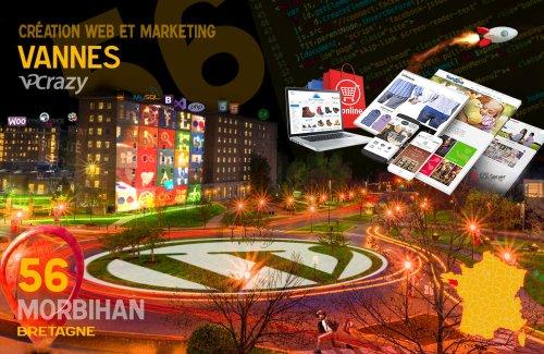 Création site Internet à Vannes 56000 Créateur de Site Web