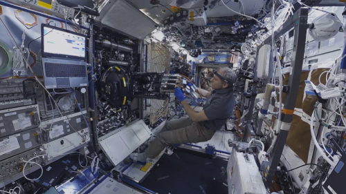 First VR Film Shot Aboard ISS Available On Oculus Venues