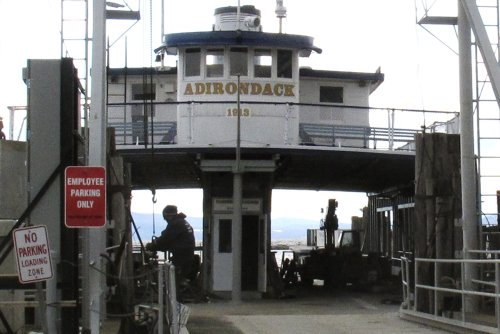 Lawmakers and conservationists seek to scuttle the scuttling of Lake Champlain ferry